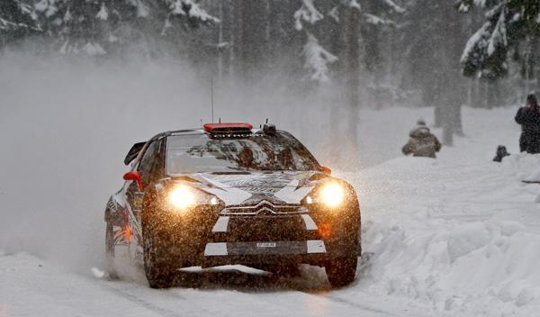 Kimi Raikkonen Rally de Suecia