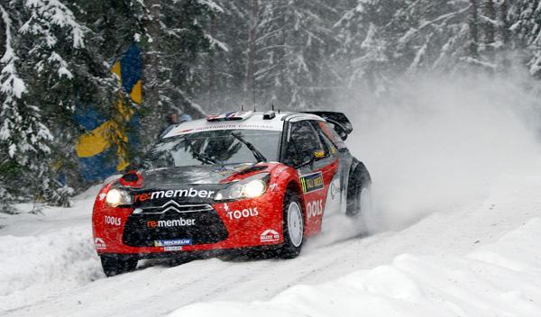 Petter Solberg Rally de Suecia