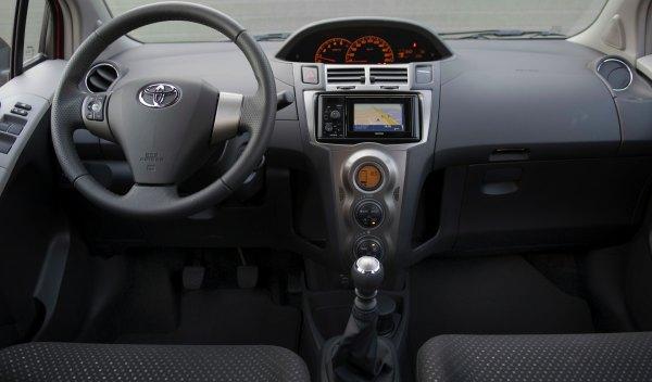 Toyota Yaris Connect 2011 interior
