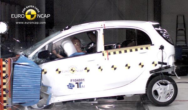 Mitsubishi i-MiEV Euro NCAP