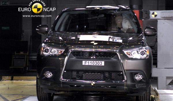 Mitsubishi ASX Euro NCAP