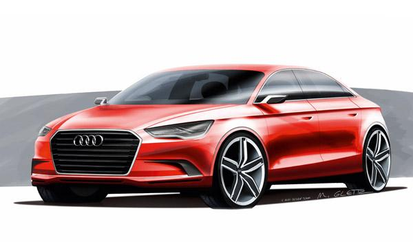 Audi A3 Concept frontal