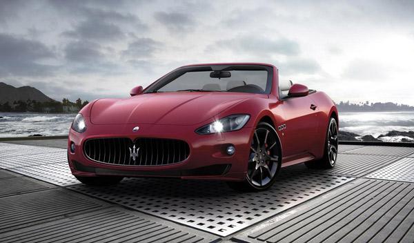 Maserati GranCabrio Sport frontal
