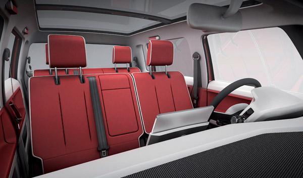 El VW Bulli puede llegar a 1.600 litros de capacidad