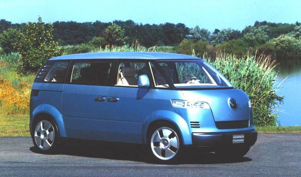 El Volkswagen Microbus en 2001