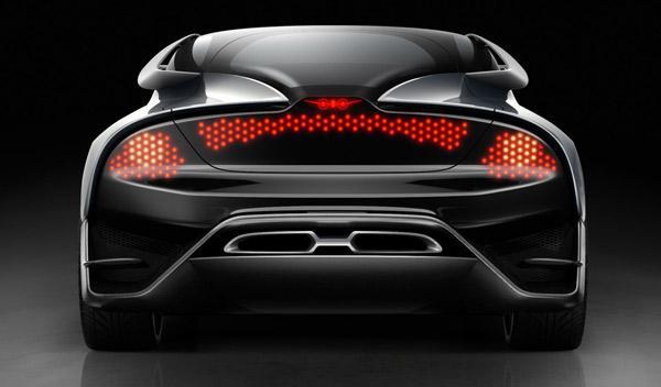 Saab PhoeniX Concept trasera
