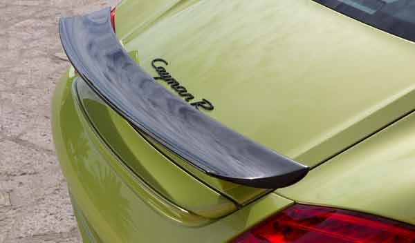 Porsche Cayman R aleron posterior trasero