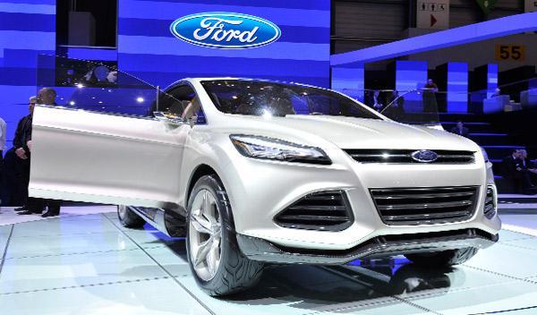 Ford Vertrek Salón de Ginebra 2011