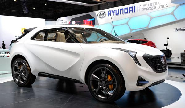 Hyundai Curb Concept Salón de Ginebra 2011