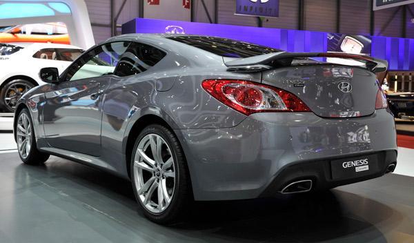 Hyundai Genesis Coupe Salón de Ginebra 2011