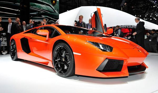 Lamborghini Aventador Salón de Ginebra 2011
