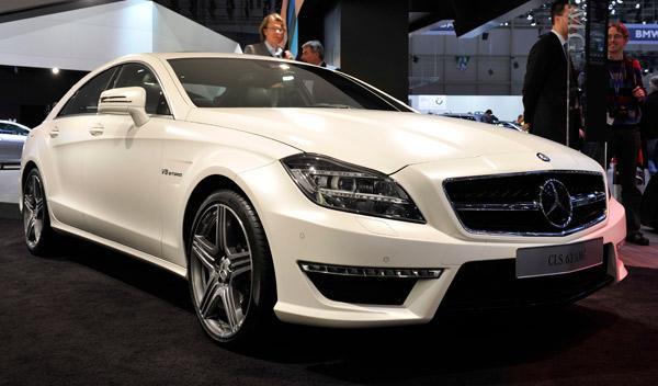 Mercedes-Benz CLS 3 AMG Salón de Ginebra