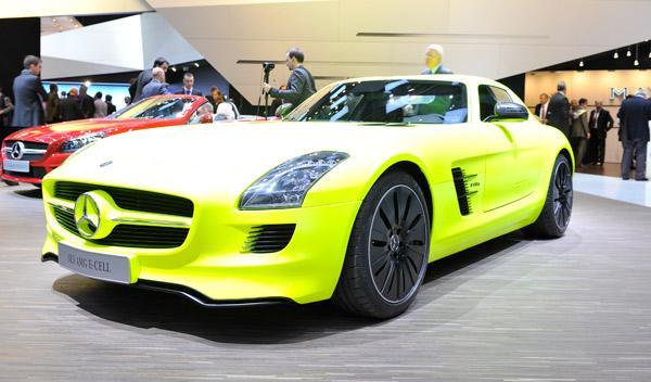 Mercedes-Benz SLS AMG-E-CELL Salón de Ginebra 2011