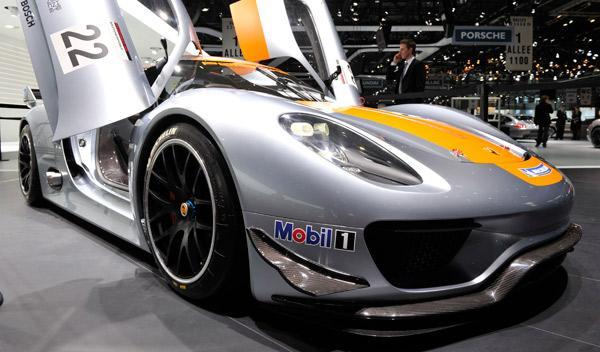 Porsche 918 RSR Salón de Ginebra 2011