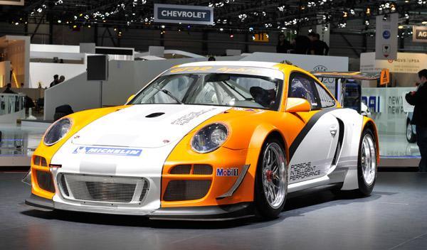 Porsche GT3 R Hybrid Salón de Ginebra 2011