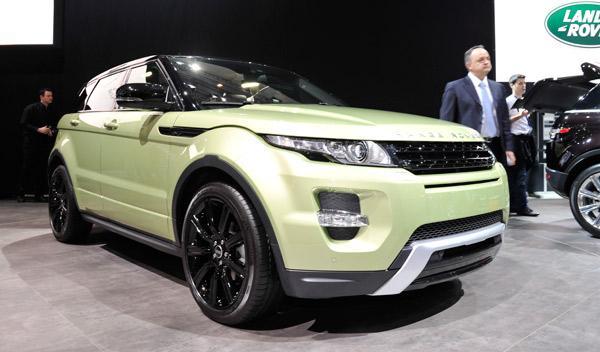 Range Rover Evoque Salón de Ginebra 2011