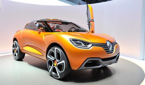 Renault Captur Salón de Ginebra 2011
