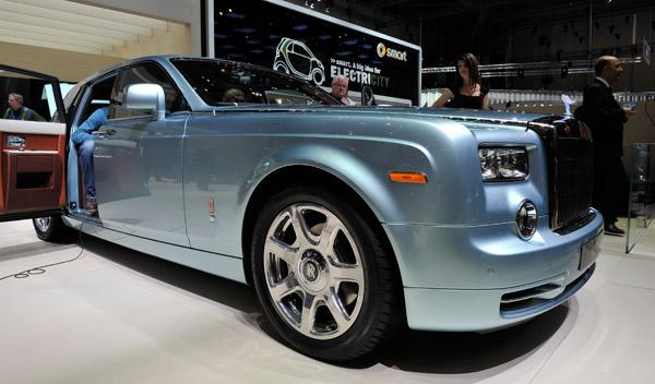 Rolls-Royce 102 EX Salón de Ginebra 2011