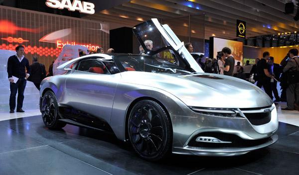 Saab PhoeniX concept Salón de Ginebra 2011