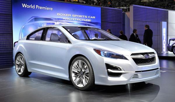 Subaru Impreza Salón de Ginebra 2011
