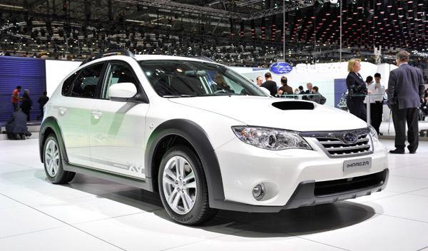 Subaru Impreza concept Salón de Ginebra 2011