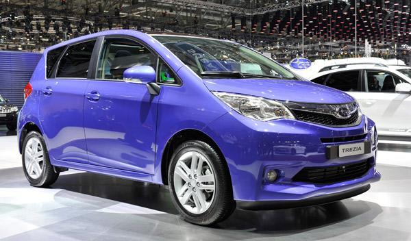Subaru Trezia Salón de Ginebra 2011