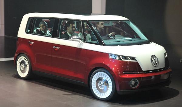 Volkswagen Bulli Concept Salón de Ginebra 2011