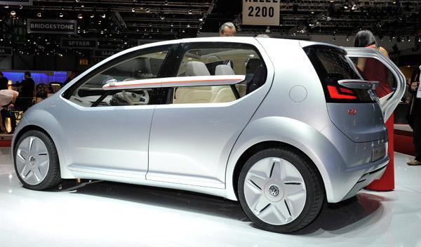 Volkswagen Giugiaro Go! Salón de Ginebra 2011
