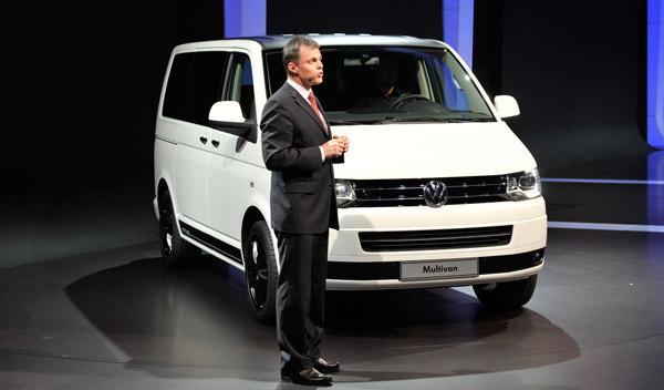 Volkswagen Multivan Salón de Ginebra 2011
