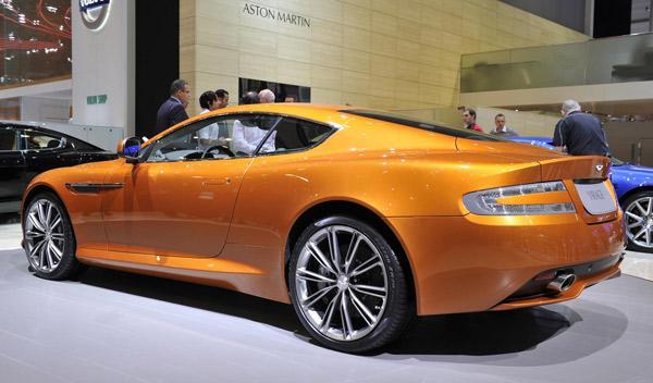 Aston Martin Virage Salón de Ginebra 2011