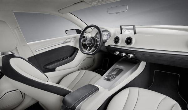 Audi A3 concept Interior Salón de Ginebra 2011