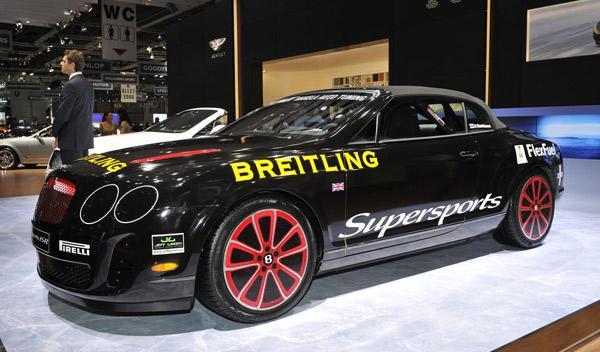 Bentley Continental Supersports Salón de Ginebra 2011