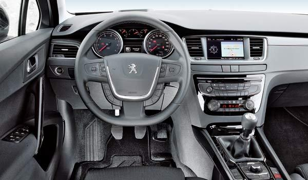 Peugeot 508 interior detalle