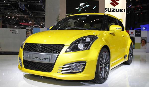 Suzuki Swift S-Concept frontal