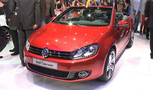 Volkswagen Golf Cabrio Salón de Ginebra 2011