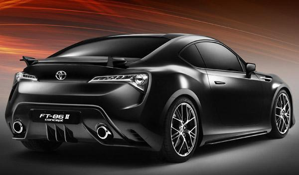 Toyota FT-86 II Concept trasera