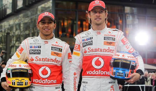 Hamilton y Button