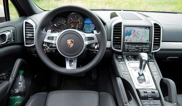 Porsche Cayenne diésel remolque test suv 4x4