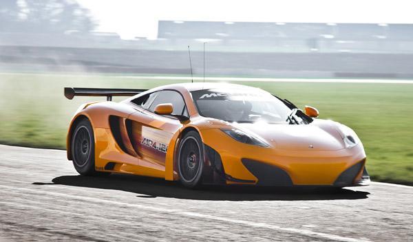 McLaren MP4-12C GT3 lateral