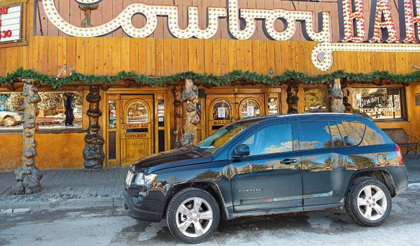 Jeep Compass salvaje oeste estados unidos SUV