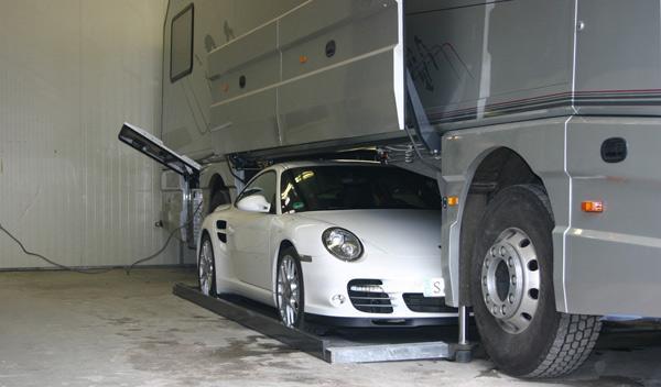 Volkner Mobile Performance garaje