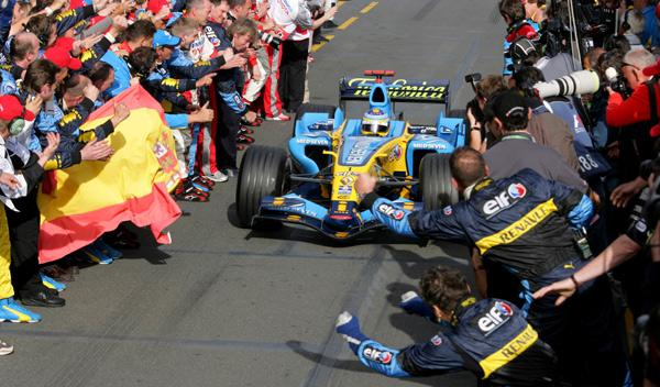 Fernando Alonso, GP Australia 2006