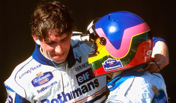 Damon Hill y Jacques Villeneuve