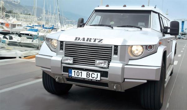 Dartz Kombat t98 4x4 tanque