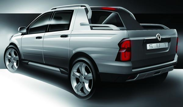 ssangyong, sut 1, actyon sports, pick up, todoterreno, SUV, concept, sustituto,