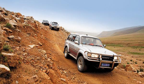 Toyota Land Cruiser SUV Tibet todoterreno