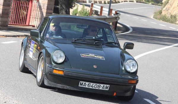 Porsche 911 Miró/Arriezu VIII Rally Costa Brava Histórico