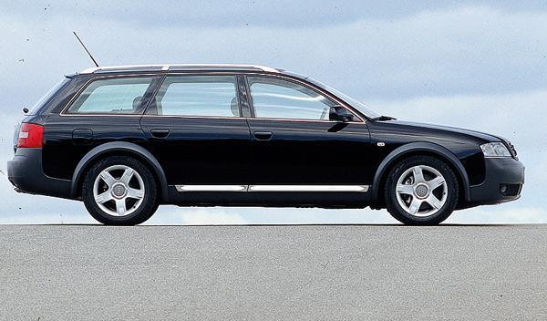 SUV Audi Allroad segunda mano todoterreno lateral