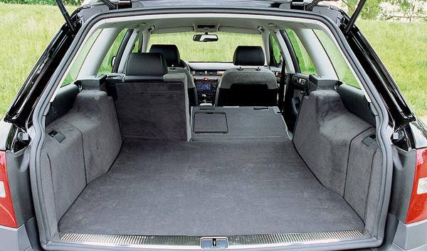 SUV Audi Allroad segunda mano todoterreno maletero