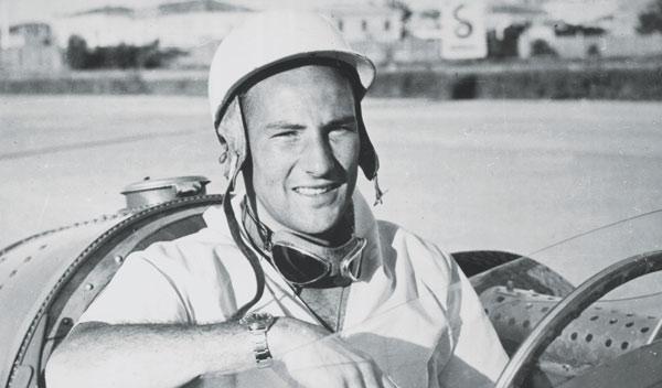 Stirling Moss en sus inicios como piloto